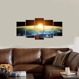 Canvas Print Painting Pictures Photo Space Universe Home Decor Wall Art Framed