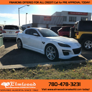 2011 Mazda RX-8 R3! ONLY 72,324 KMs! GET PRE APPROVED TODAY!