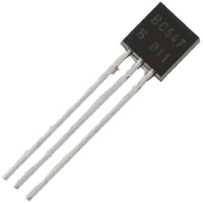 Bc547 Npn Epitaxial Silicon Transistor To-92 Us Seller