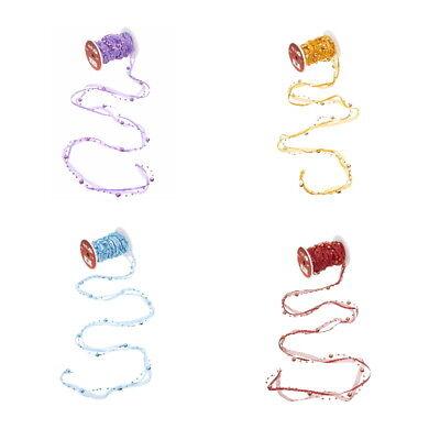 10 Meter Schleifenband Satin Organza Perlen Geschenkband Dekoration Farbauswahl