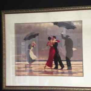 The Singing Butler by Vettriano
