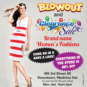 50% off Ladies Clothing Sale Over 2000 Items