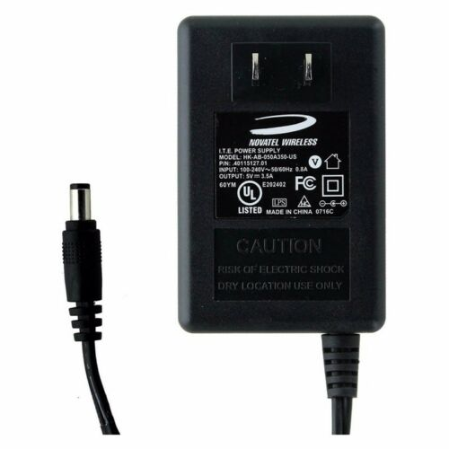 Original Novatel T1114 & T1114v Replacement Charger - 5V, 3.5A, with 6ft Cord