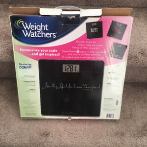 Conair weight scale