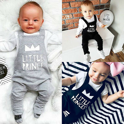 Adorable Baby Boy Clothes - Adorable Newborn Baby Boy Girl Bib Pants Romper Bodysuit Jumpsuit Outfit Clothes