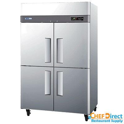 Turbo Air M3f47-4-n 52 Four Half Door Reach-in Freezer