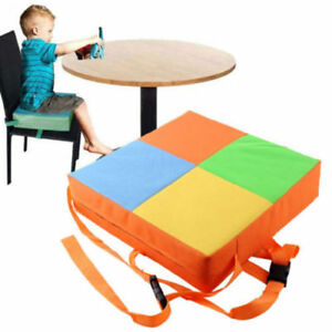 d3434ad7fc97 Kids Dining Chair Cover Child Increased Highchair Pad Baby Booster Seat  Cushion