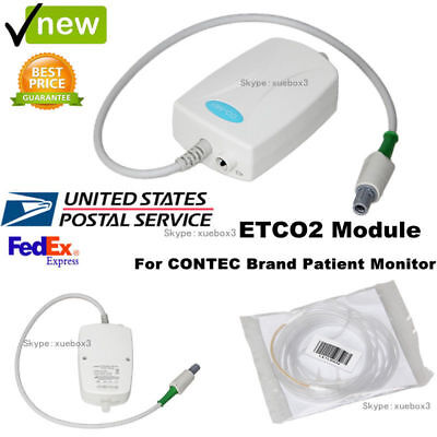 Sidestream Co2 Etco2 Respiratory Gas Monitor Module For Contec Patient Monitor