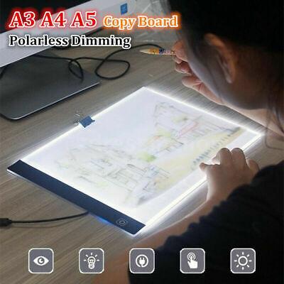 A3 A4 A5 LED Drawing Pad Slim Tracing Pad Copy Board Painting Light Box Tool
