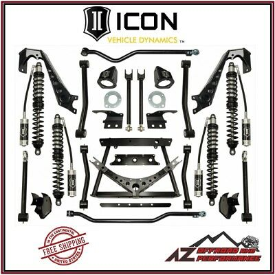 """ICON 1.75-4"""" Stage 1 Complete Coilover Conversion System 07-18 Jeep Wrangler JK"""