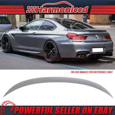 Fits 12-17 BMW F13 Coupe M6 Trunk Spoiler Painted #A52 Space Gray Metallic