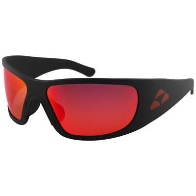 d3cd83e62c NEW Liquid Eyewear HHMBRD02R HAMMERHEAD MATTE BLACK RED MIRROR POLARIZED