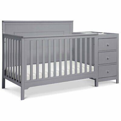 Carter's By DaVinci Dakota Convertible Crib and Changer Set in Gray