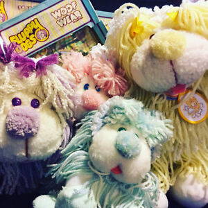 Disney's Fluppy Dogs 1980s Toy Collection Vintage Plush LOT!