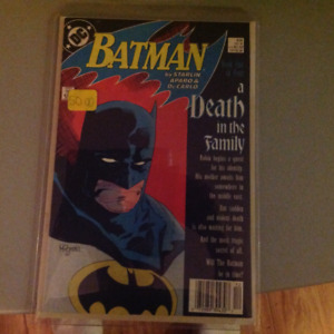 Batman a death in the family  complete 426 - 429