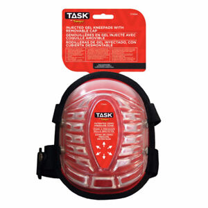 Task Tools T77654 All Terrain Injected Gel Kneepads w/ Removable