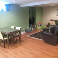 1200 square feet 2 bedroom basement appartment
