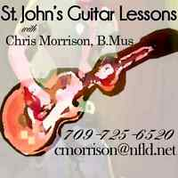 St. John's Guitar and Drum Lessons
