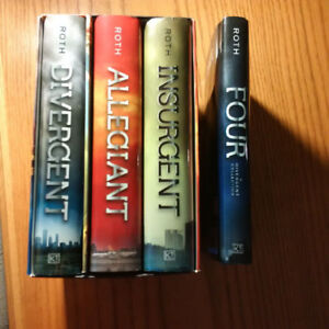 HardCover - Divergent Collection - Extra Book included