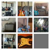 Experienced lead guitar/rhythm guitar/ harmonys/singer looking