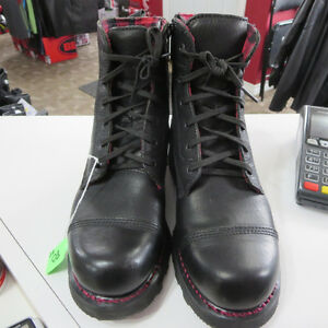 Mens Harley Davidson Leather Motorcycle Boots Size 8.5 Only $75