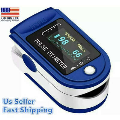 Oled Finger Pulse Oximeter Blood Oxygen Spo2 Pr Pi Heart Rate Patient Monitor Ce