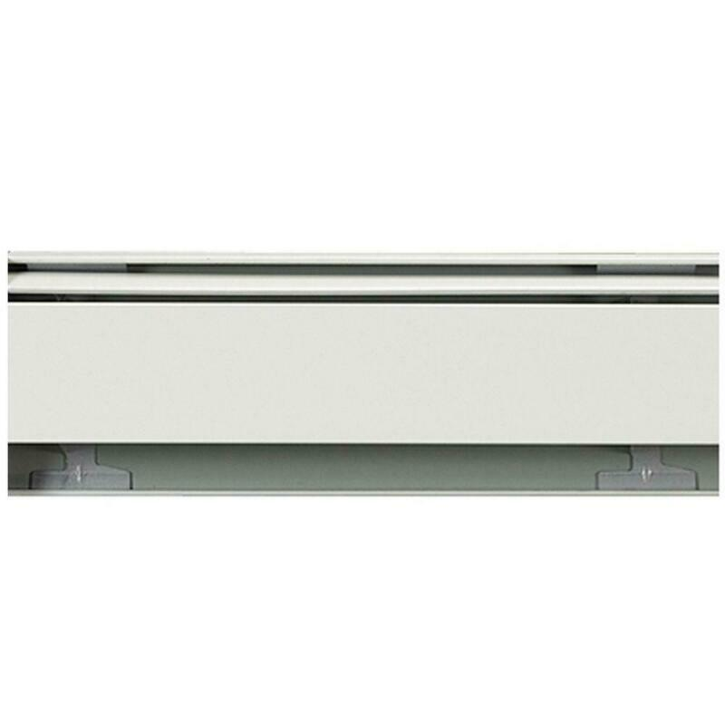 8 Ft. Hydronic Hot Water Baseboard Heaters W/ Movable Damper