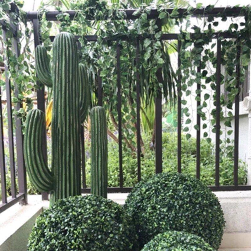 Green Home Garden Artificial Ball Tree Boxwood Wedding Plant Balls 1//2pc Outdoor