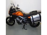 SUZUKI DL650 V-STROM. 1 OWNER. STAFFORD MOTORCYCLES LIMITED