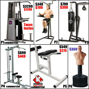 Liquidation  Pull up station chin up stand ( fermeture ) punchin