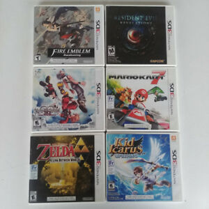 Selling 3DS Games! (Kingdom Hearts 3D, Mario Kart 7, and more)