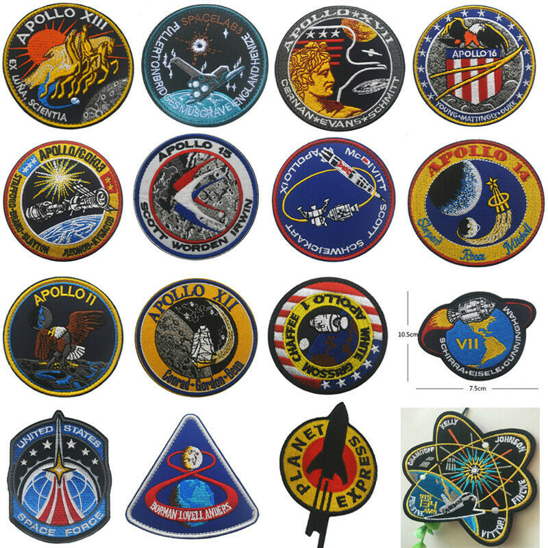 UNITED STATES SPACE FORCE badge patches Hook Embroidery armband Patch Crafts