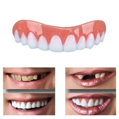 Artificial Fake Instant Cosmetic False Simulation Denture Care Teeth Veneer -