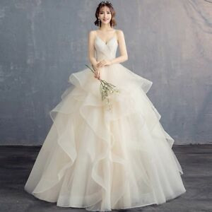 Selling brand new champagne wedding dress