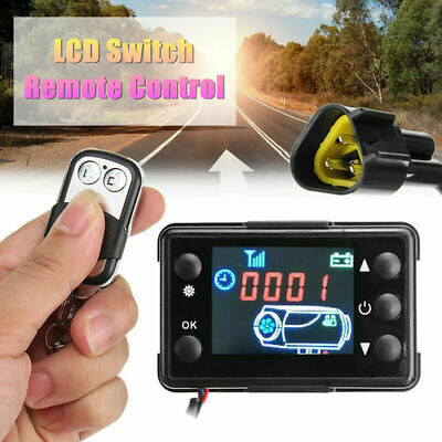 Car Air Diesel Heater LCD Switch Parking Controller 4 Button Remote Control NEW