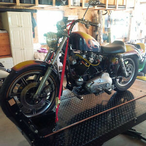 1970 Harley Sportster Iron Head XLCH Project Vintage Firm
