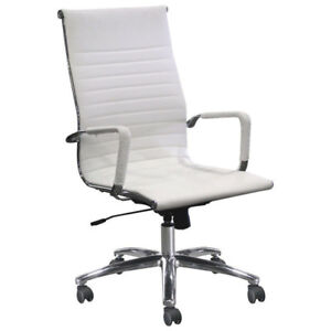Xenali High Back Manager & Executive Chair - White