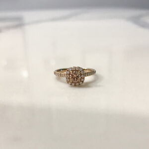 Affordable 14KT Yellow Gold Engagement Ring