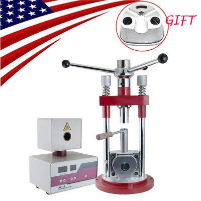 Dental Lab Flexible Denture Injection Injector System Machine Duplicating Flasks