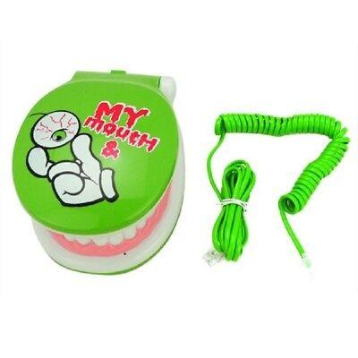 TELEFONO PLEGABLE CON FORMA DE MANDIBULA MUY ORIGINAL