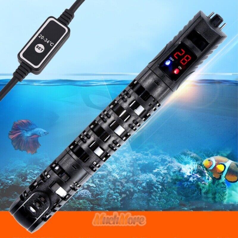 400W Adjustable Submersible Heater Aquarium Fish Tank Temperature Thermostat USA