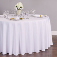 16 White Tablecloths