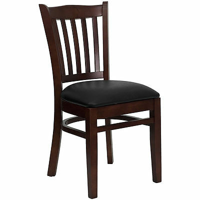 Lot Of 50 Mahogany Wood Dining Restaurant Chairs