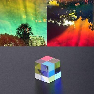 Magical Laser Beam Combine Cube Prism Blue Laser Diode Module Novel Toy