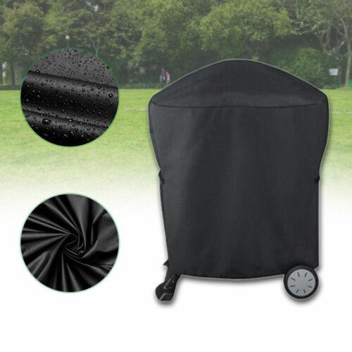 Grillabdeckung Abdeckhaube Wasserdicht Cover für Weber Q1000 Q2000 Serie schwarz