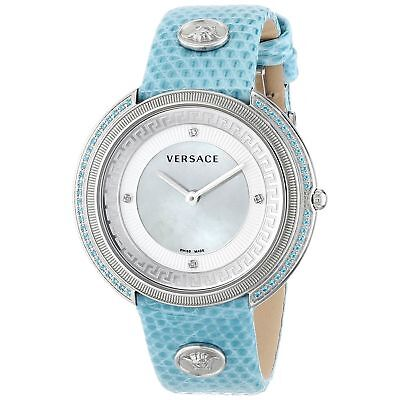 Versace VA7100014 Women's Thea Blue Quartz Watch