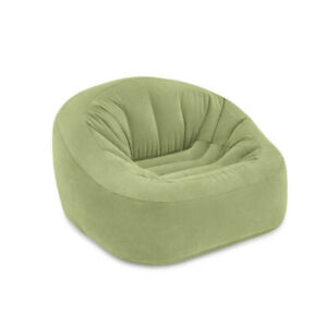 "Intex Beanless Bag Club Chair, Inflatable Chair, 49"" X 47"" X 30"""