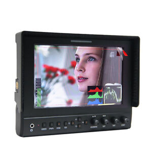 """7"""" IPS Metal Shell 1280*800 Field Monitor with FREE Alum Case"""