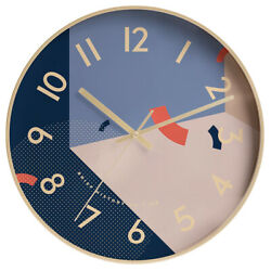 D280 Modern Style Bedroom Mute Originality Decoration Wall Clock 12 Inch A
