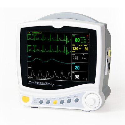 NEW CMS6800 HOSPITAL ICU MULTI-PARAMETER VITAL SIGNS PATIENT MONITOR CARDIAC MACHINE